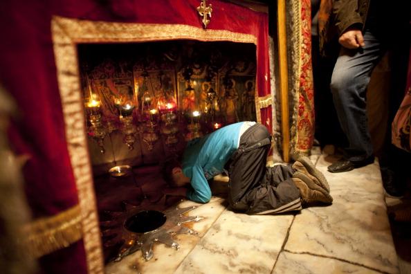 West Bank「Pilgrims Head To The Church of Nativity Ahead of Christmas」:写真・画像(4)[壁紙.com]