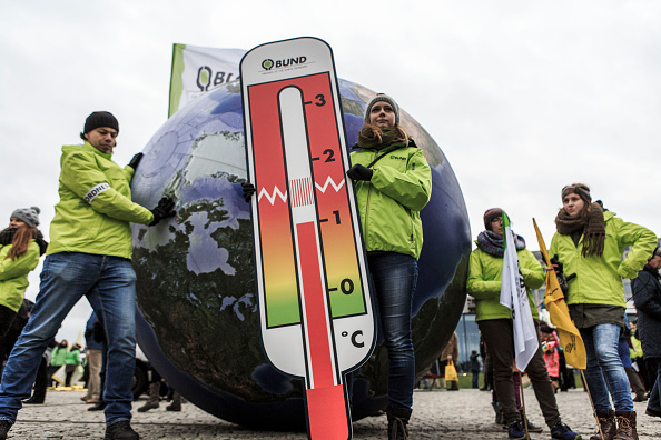 Thermometer「Global Climate March In Berlin」:写真・画像(7)[壁紙.com]