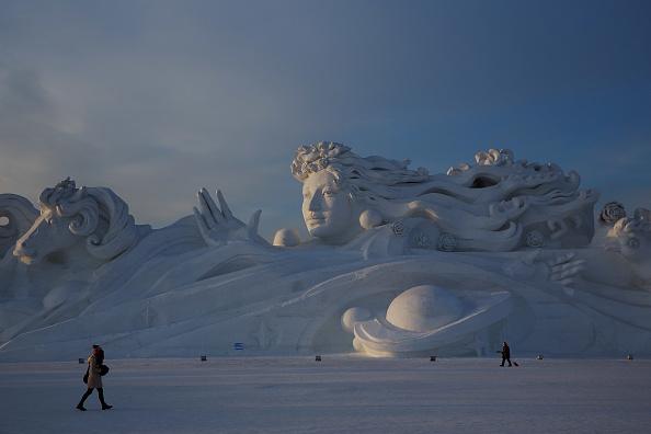 Ice Sculpture「General View Of Harbin」:写真・画像(9)[壁紙.com]