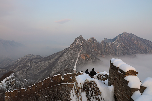 Tourism「Snow Scene In The Great Wall」:写真・画像(16)[壁紙.com]