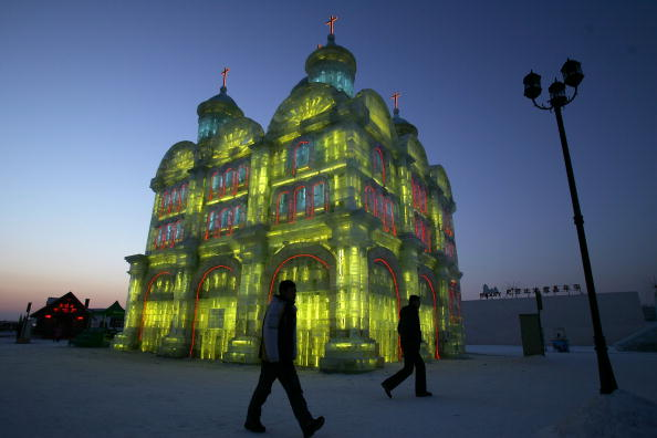 Harbin Ice Festival「Annual Harbin Ice Festival Kicks Off」:写真・画像(5)[壁紙.com]