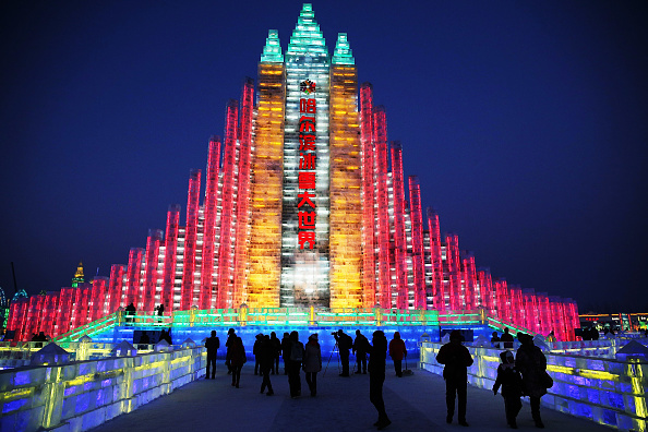 雪まつり「The 30th Harbin International Ice & Snow Sculpture Festival - Opening Ceremony」:写真・画像(7)[壁紙.com]