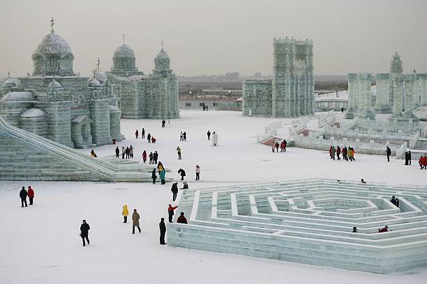 Annual Ice And Snow Festival Opens In Harbin:ニュース(壁紙.com)