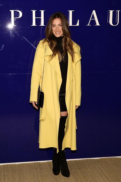 Yellow Coat「Ralph Lauren - Front Row - February 2018 - New York Fashion Week」:写真・画像(11)[壁紙.com]