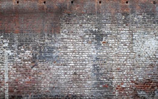 Brick Wall「Brick Exterior wall from a very old building」:スマホ壁紙(9)