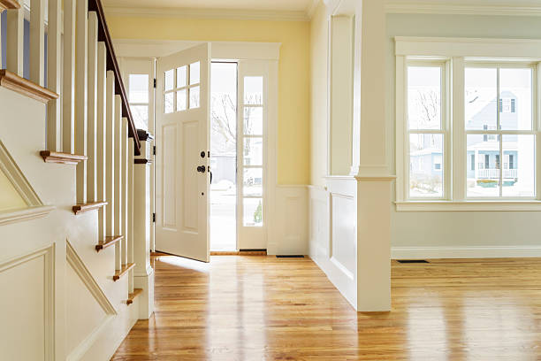 Interior space of custom built home:スマホ壁紙(壁紙.com)