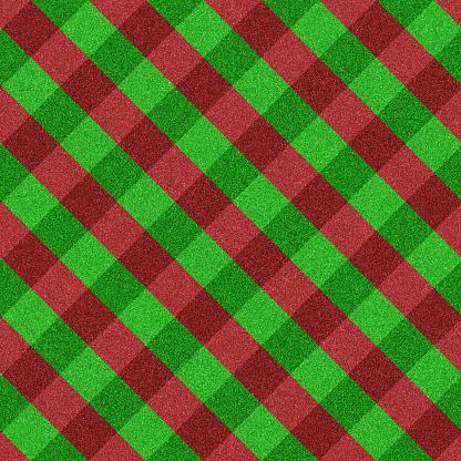 タータンチェック「グリーンと赤の格子柄シームレスなグリッター」:スマホ壁紙(16)