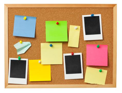 Instant Print Transfer「Office cork board.」:スマホ壁紙(12)