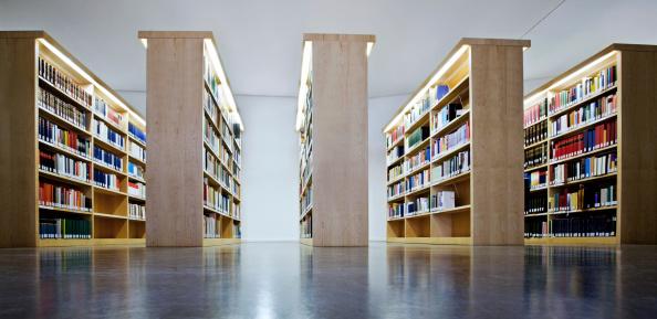 Literature「Bookshelves」:スマホ壁紙(12)