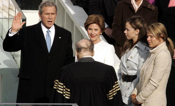 Inauguration Into Office「President Bush Is Sworn In For A Second Term」:写真・画像(14)[壁紙.com]
