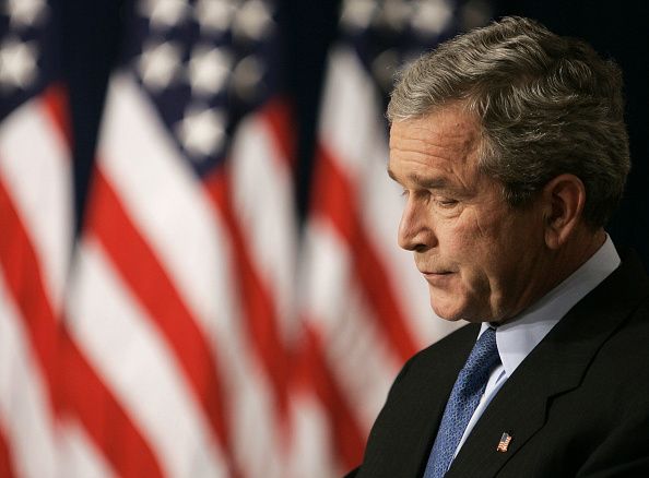 Profile View「President Bush Holds News Conference」:写真・画像(11)[壁紙.com]
