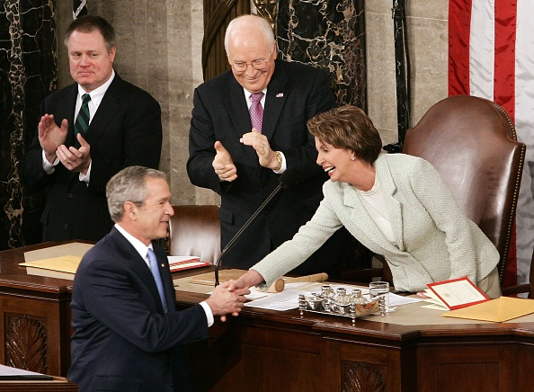 Speaker of the House「Bush Delivers 2007 State Of The Union Address」:写真・画像(18)[壁紙.com]