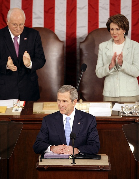 Speaker of the House「Bush Delivers 2007 State Of The Union Address」:写真・画像(19)[壁紙.com]