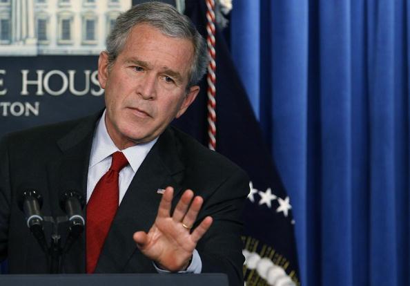Corporate Business「Bush Holds A Press Conference」:写真・画像(0)[壁紙.com]