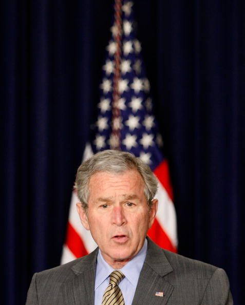 Eisenhower Executive Office Building「Bush Makes Statement On Colombia Free-Trade Agreement」:写真・画像(3)[壁紙.com]