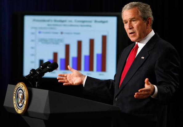 Eisenhower Executive Office Building「Bush Discusses Budget At The White House」:写真・画像(8)[壁紙.com]