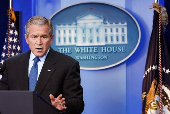 Conference - Event「President Bush Holds Press Conference」:写真・画像(0)[壁紙.com]