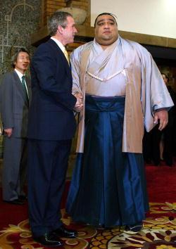 武蔵丸 光洋「Bush Visit Tokyo」:写真・画像(1)[壁紙.com]