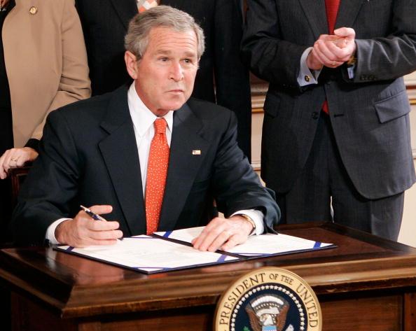 Eisenhower Executive Office Building「Bush Normalizes Trade Relations With Ukraine」:写真・画像(6)[壁紙.com]