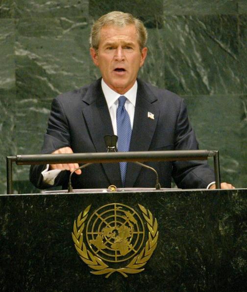 United Nations Building「Bush Addresses UN General Assembly」:写真・画像(6)[壁紙.com]