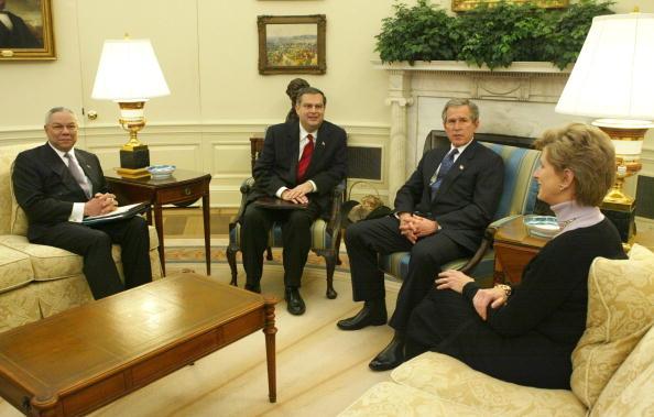 Alex Wong「U.S. President George W. Bush Receives Briefing On Carbon Sequestration」:写真・画像(6)[壁紙.com]