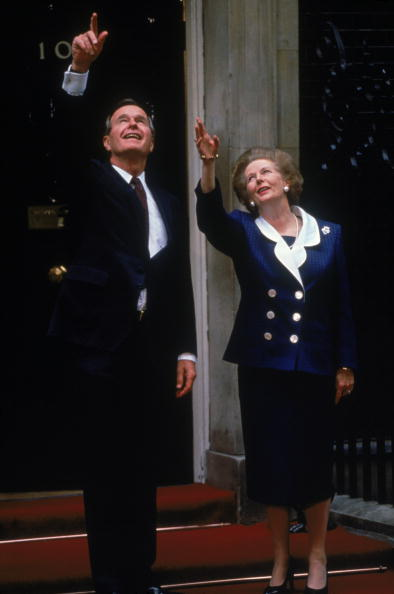 Tom Stoddart Archive「Bush And Thatcher」:写真・画像(15)[壁紙.com]
