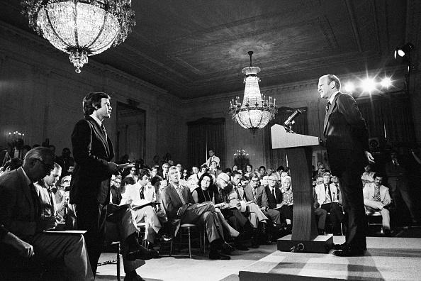 Press Room「First Press Conference As President」:写真・画像(6)[壁紙.com]