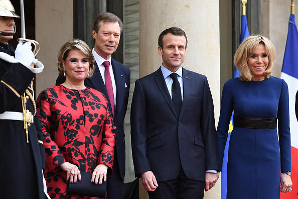 Luxembourg Royalty「Official Visit OF Grand-Duc Henri Of Luxembourg and Grande-Duchesse Maria Teresa Of Luxembourg : Day Two」:写真・画像(11)[壁紙.com]