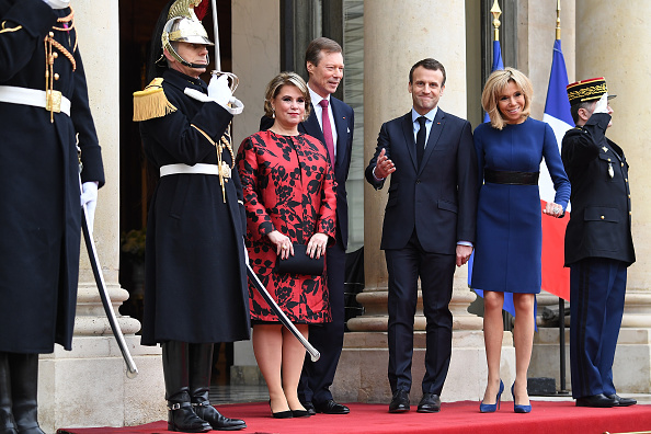 Luxembourg Royalty「Official Visit OF Grand-Duc Henri Of Luxembourg and Grande-Duchesse Maria Teresa Of Luxembourg : Day Two」:写真・画像(8)[壁紙.com]