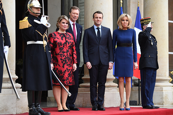 Luxembourg Royalty「Official Visit OF Grand-Duc Henri Of Luxembourg and Grande-Duchesse Maria Teresa Of Luxembourg : Day Two」:写真・画像(12)[壁紙.com]