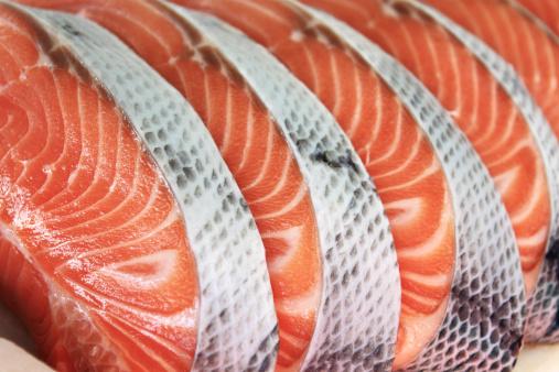 Fish「Salmon」:スマホ壁紙(9)