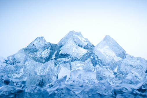 透明「Ice 山」:スマホ壁紙(5)
