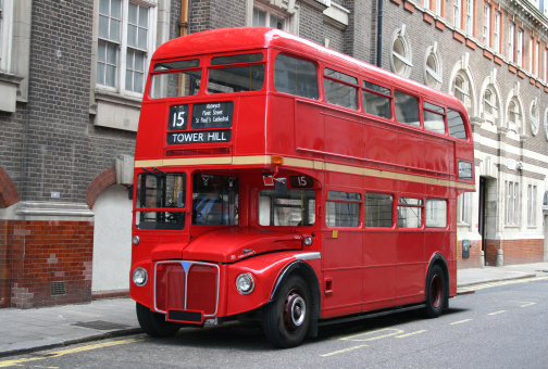 Bus「Red London Double Decker Bus」:スマホ壁紙(12)