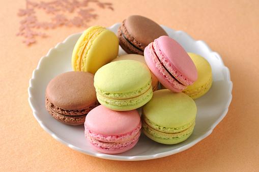 マカロン「Macarons」:スマホ壁紙(10)