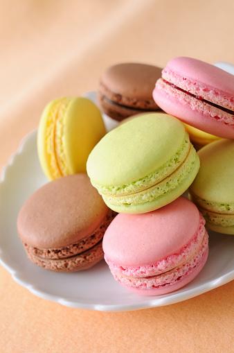 マカロン「Macarons」:スマホ壁紙(9)