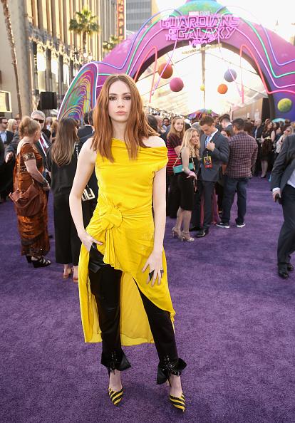 "Yellow Dress「The World Premiere Of Marvel Studios' ""Guardians Of The Galaxy Vol. 2.""」:写真・画像(6)[壁紙.com]"