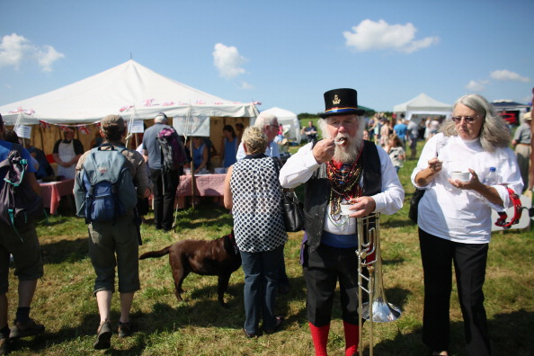 Oli Scarff「Aughton Pudding Feast Takes Place For The First Time In Decades」:写真・画像(10)[壁紙.com]