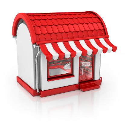 Clip Art「red store」:スマホ壁紙(0)