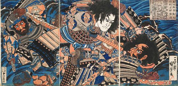 戦国武将「Sanada No Yoichi Yoshihisa And Matano No Goro Kagehisa」:写真・画像(2)[壁紙.com]