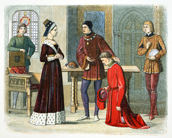 Earl King「The Earl Of Warwick Submits To Queen Margaret 1470 (1864)」:写真・画像(10)[壁紙.com]
