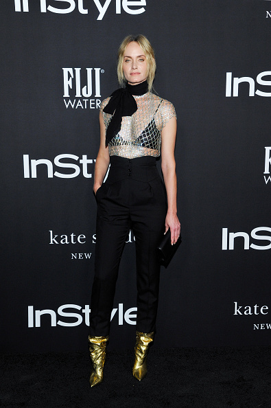 Amber Valletta「2018 InStyle Awards With Fiji Water」:写真・画像(14)[壁紙.com]