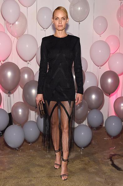 アンバー ヴァレッタ「Jimmy Choo 20th Anniversary Event During New York Fashion Week」:写真・画像(5)[壁紙.com]