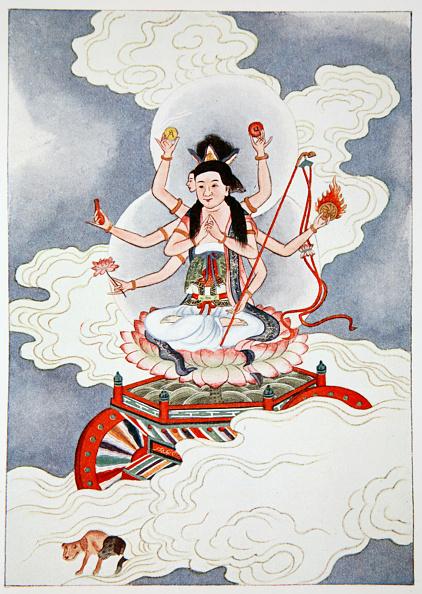 雲「Tou Mu Goddess Of The North Star 1922」:写真・画像(11)[壁紙.com]