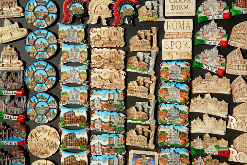 Gift Shop「Fridge Magnet Souvenirs Rome Italy」:スマホ壁紙(19)