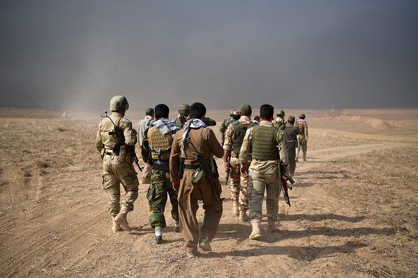 Kurdish「Joint Forces Battle To Retake Iraqi City Of Mosul From ISIS」:写真・画像(10)[壁紙.com]