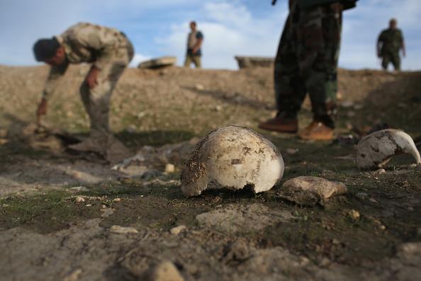 Iraq「Kurdish Forces Occupy Ruins Of Sinjar After Liberation From Daesh」:写真・画像(12)[壁紙.com]