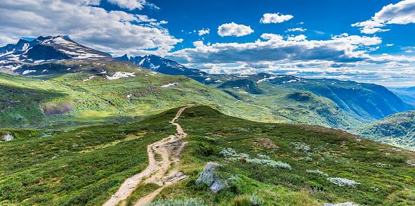 ハイキング「Jotunheiman 国立公園,Norway」:スマホ壁紙(17)