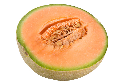 メロン「Half melon fruit」:スマホ壁紙(3)