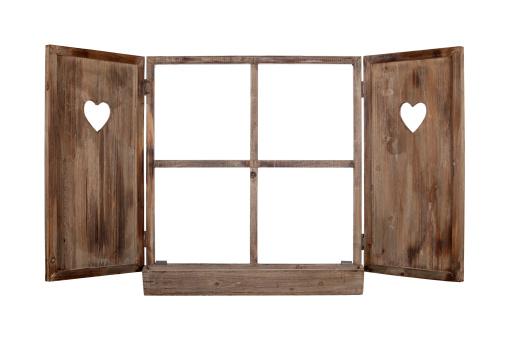 Window Frame「Open bavarian window frame isolated」:スマホ壁紙(16)