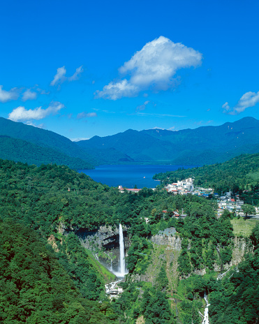 Tochigi Prefecture「Kegon Falls and Chuzenji-ko, Nikko, Tochigi Prefecture, Japan」:スマホ壁紙(16)